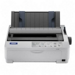 Epson LQ-590 Impact Printer - Monochrome - Dot-matrix - 24 pin - Parallel, USB