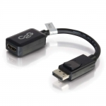 "C2G 8"" DisplayPort M to HDMI F Black - 54322"
