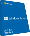 Microsoft Windows Server 2012 R.2 Standard 64-bit - License and Media - OEM - PC - English