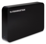 "Manhattan 3.5"" SATA USB 3.0 Hard Drive Enclosure - 130295"