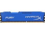 Kingston HyperX Fury 8GB DDR3 1600 CL10 Blue - HX316C10F/8