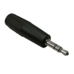 3.5mm to 2.5mm M/F Audio Adapter
