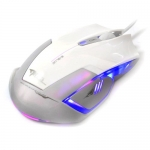 E-3Lue Mazer Type-R True 2400dpi Multi DPI Switch Gaming Mouse - EMS124WH