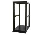 25U 4 Post Server Open Frame Rack Cabinet