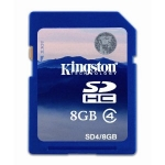 Kingston 8GB SD memory