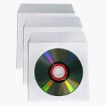 CD Paper Envelopes - 100 pack