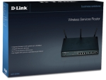 DLINK DSR-500N WIRELESS ROUTER 4 GIGABIT PORTS, 2 WAN,VPN,SSL