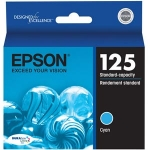 Epson 125 Cyan Ink Cartridge for Stylus 125, 127, 130, 230, 420, 625 /WorkForce 320, 323, 325
