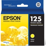 Epson 125 Yellow Ink Cartridge for Stylus 125, 127, 130, 230, 420, 625 /WorkForce 320, 323, 325