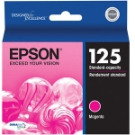 Epson 125 Magenta Ink Cartridge for Stylus 125, 127, 130, 230, 420, 625 /WorkForce 320, 323, 325