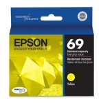 Epson T069420 #69 Yellow  for Stylus CX5000, 5000v, 6000, 7000F, 7400, 7450, 8400, 9400Fax, 9475Fax, N10, 11 / NX100, 105, 110, 115, 200, 215, 300, 305, 400, 415, 510, 515, Workforce 30, 40, 310, 315, 500, 600, 610, 615, 1100