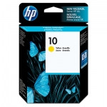 HP #10 Yellow Ink Cartridge