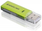 Iogear SD/MMC/MicroSD Card Reader/Writer - GFR204SD