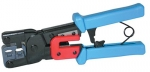RJ11 RJ45 CRIMP TOOL W/CBL STRIPPER - 19579