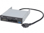 USB 3.0 Internal Bay Multi Card Reader - JU-MR0A11-S1