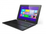 "Hipstreet W10 Pro 10"" Windows 8.1 Intel Quad-Core Tablet w/Docking Keyboard - HS-10DTB37-32GB"
