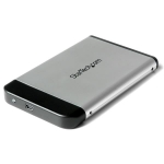 "StarTech.com 2.5"" Silver USB 2.0 to IDE External Hard Drive Enclosure - IDE2510U2"
