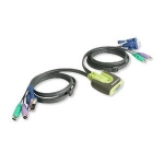 IOGear 2 Port PS/2 Micro KVM Switch