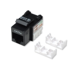Intellinet Cat5e Keystone Jack - Black