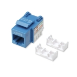 Intellinet Cat5e Keystone Jack - Blue