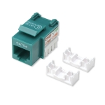Intellinet Cat5e Keystone Jack - Green