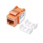Intellinet Cat5e Keystone Jack - Orange