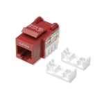 Intellinet Cat5e Keystone Jack - Red