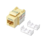 Intellinet Cat5e Keystone Jack - Yellow