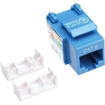 Intellinet Cat6 Keystone Jack - Blue