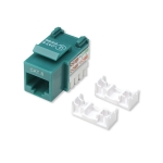 Intellinet Cat6 Keystone Jack - Green