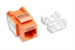 Intellinet Cat6 Keystone Jack - Orange
