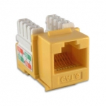 Intellinet Cat6 Keystone Jack - Yellow