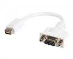 Mini DVI to VGA Video Cable Adapter for Macbooks and iMacs