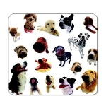 Allsop Dogs Mouse Pad