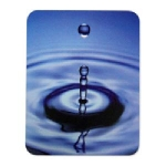 Manhattan Water Drop Mouse Pad