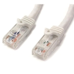 StarTech.com 50ft White Snagless CAT6 UTP Patch Cable - N6PATCH50WH