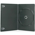 Plastic DVD cases w/ Glossy Cover 100pk
