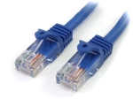 StarTech.com 25ft Blue Snagless CAT5e UTP Patch Cable - RJ45PATCH25