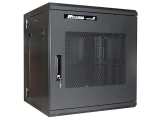 12U 19in Hinged Wall Mount Server Rack Cabinet w/ Steel Mesh Door