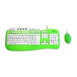 Saitek Keyboard and Mouse Combo - Green