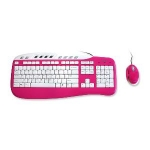 Saitek Keyboard and Mouse Combo - Pink