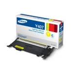 Samsung CLT Y407S Yellow Toner Cartridge for CLP-320/325/CLX-3180 series