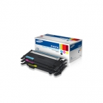 Samsung CLT - P407A/XAA 1 of each Cyan, Magenta, and Yellow Toner Cartridges