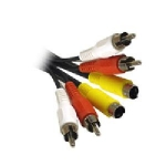 SVideo/RCA Combo A/V Cable-  6