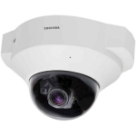 Toshiba H.264 2MegaPixel Indoor Mini Dome, Night Vision, Wide Dynamic Range, Power Over Ethernet