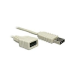 USB 2.0 A-A Ext Cable M/F- 6