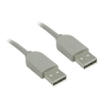 USB 2.0 A-A Cable M/M- 10