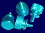 ANODIZED THUMBSCREW BLUE