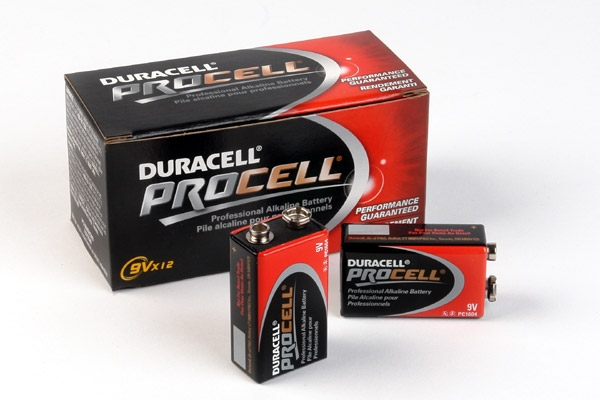 Duracell Procell 9v Batteries - 12 Pack