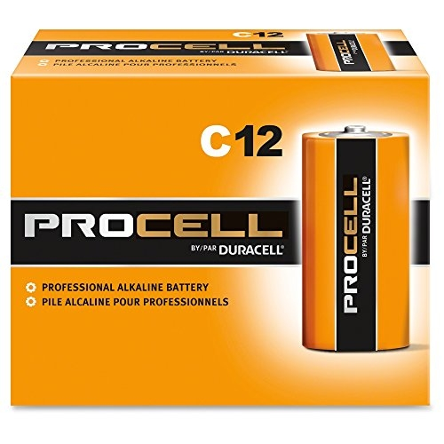 Duracell Procell C Batteries - 12 Pack